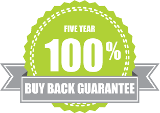 5 year 100% buy back guarantee