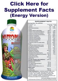Nutopia Plus Energy Supplement Facts