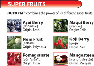 Nutopia Combines The Power Of Six Different Super Fruits