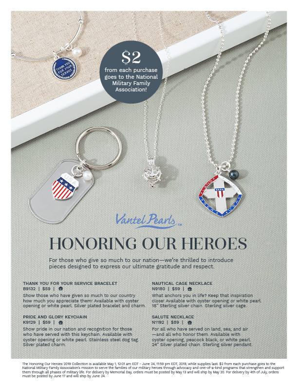 The flyer for Honoring our Heroes.
