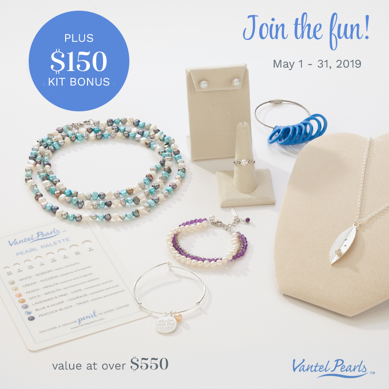 The flyer for our May kit bonus incentive.