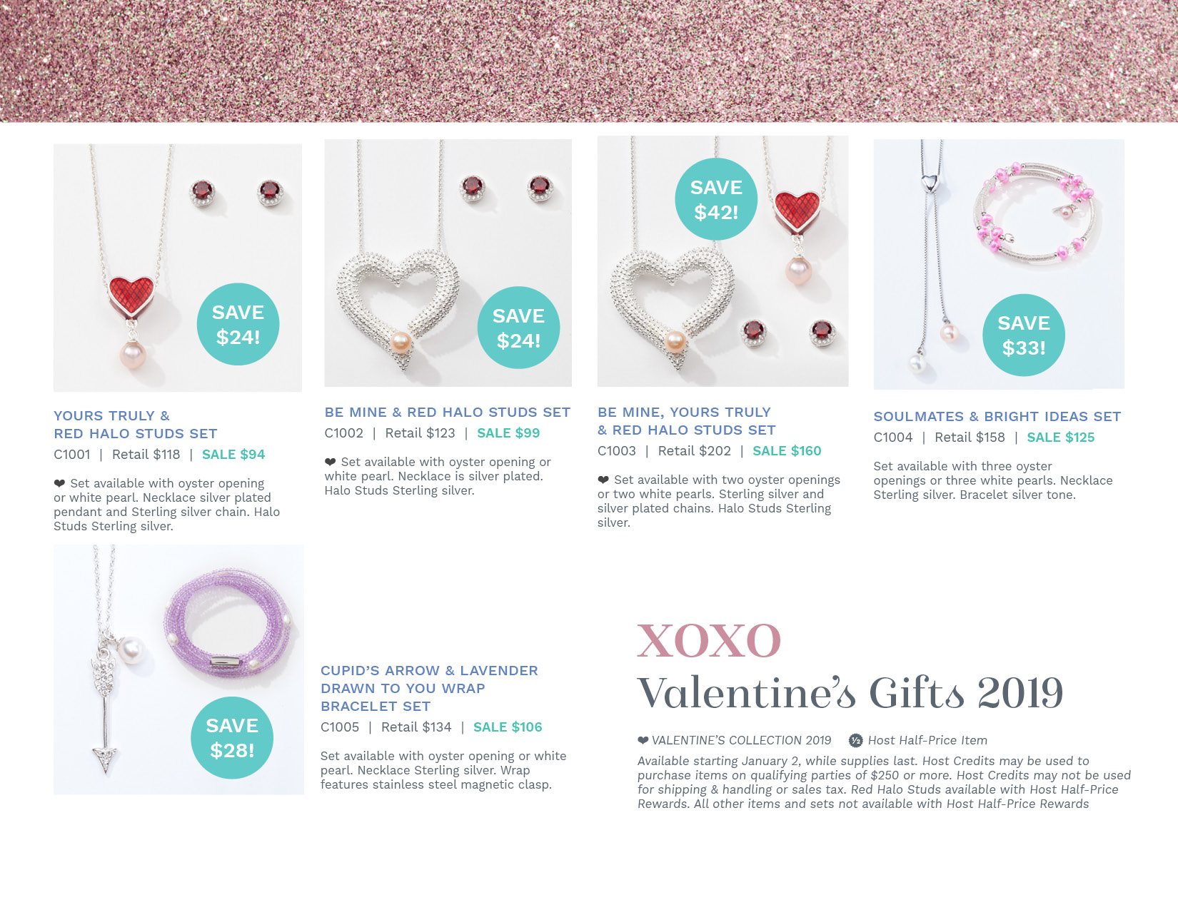 Page 2 of our flyer for our Valentines Day promotion.